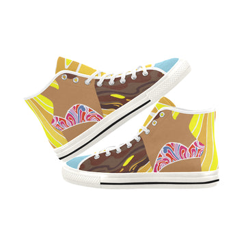 Summer Bedlam Canvas Hi-Tops