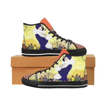 Central Park West Canvas Hi-Tops (2 options)