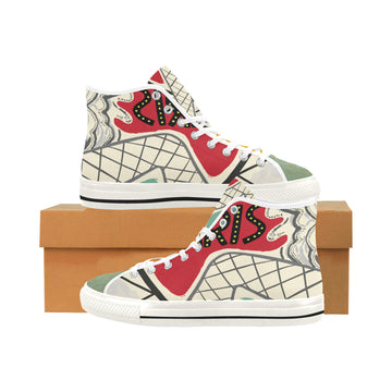 Paris Folies Canvas Hi-Tops
