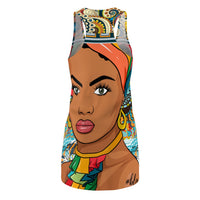 Exotic Princess BLM Racerback Dress, Dress- WhimzyTees