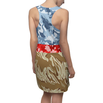 Giraffe Safari Racerback Dress