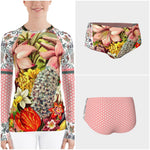 Star Child Rash Guard, Rashguard- WhimzyTees