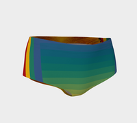 Sunflower Dayz Swim Briefs - WhimzyTees