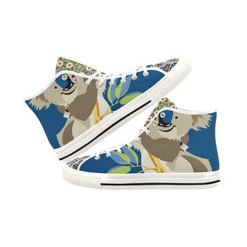 Koala Madness Canvas Hi-Tops