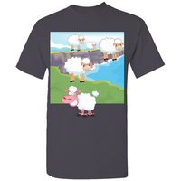 Mindless Sheep Tee, Tee- WhimzyTees