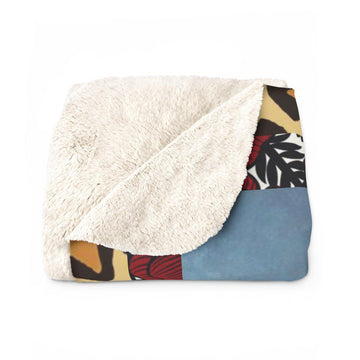 Bedtime Stories Sherpa Fleece Blankie