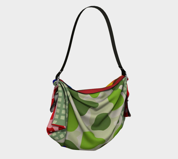 Rainbow Kiss Hobo, Bag- WhimzyTees