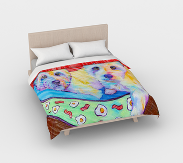 The Westies Duvet Cover