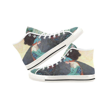 Dragon Fairy Canvas Hi-Tops