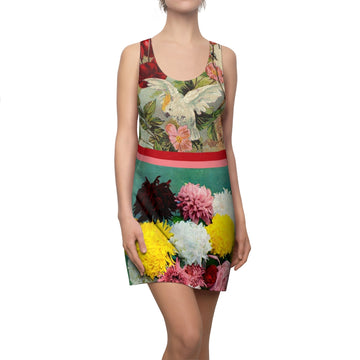Birds of Mumford Racerback Dress