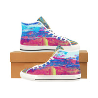 Lady Nanante Hi-Tops, Shoes- WhimzyTees
