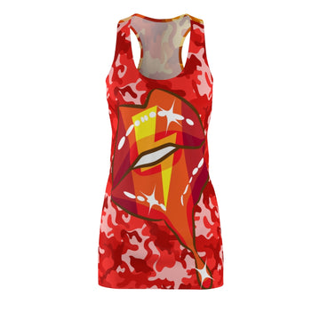 Bolt of Lightning Racerback Dress