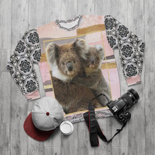 Koala-Ki Sweatshirt, All Over Prints- WhimzyTees