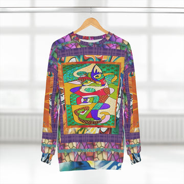 Picasso Kitty Sweatshirt