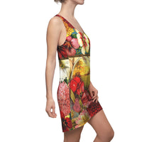 Rosa Peace Racerback Dress, Dress- WhimzyTees