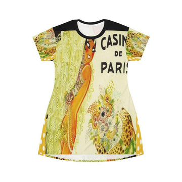 Casino Paris T-shirt Dress