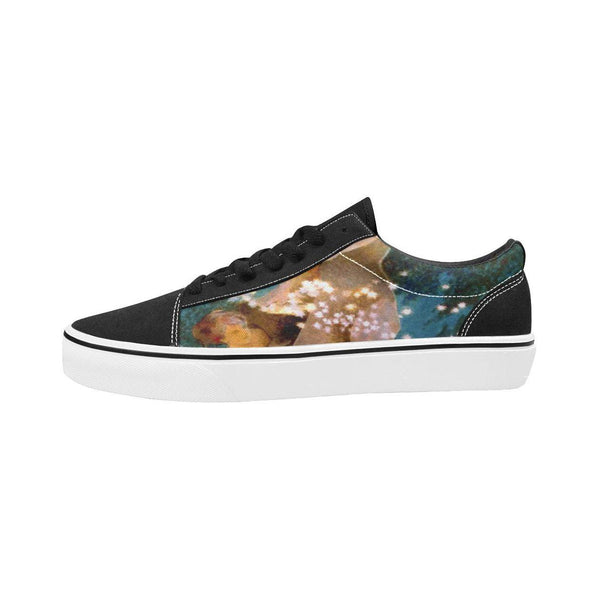Mother Moon Suede Skateboard Shoe - WhimzyTees