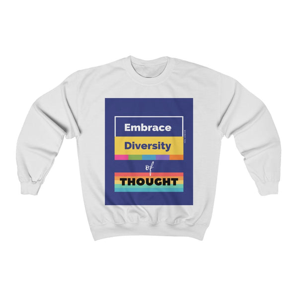 Diversity of Thought HD Crewneck Sweatshirt, Flipit Red- WhimzyTees