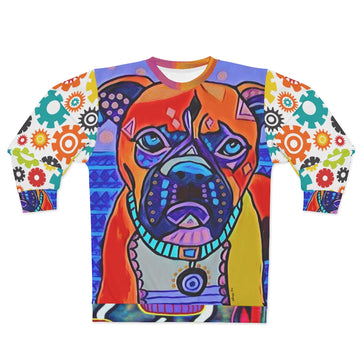 Indigo Dog Sweatshirt