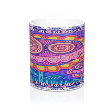 Limited Edition | Art |Mr Hydde - Okinawa FLOWRZ Mug 11oz