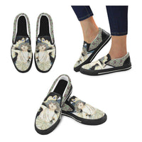 Forrester Paisley Canvas Slip-ons, Shoe- WhimzyTees
