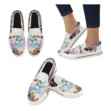 Garden Party Canvas Slip-ons