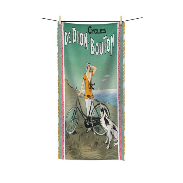 La Bicyclette Towel, Towel- WhimzyTees