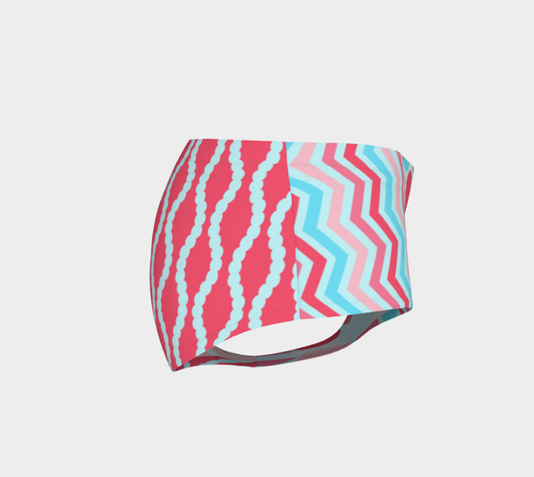 The Lucky Flamingo Swim Briefs, Swim Briefs- WhimzyTees