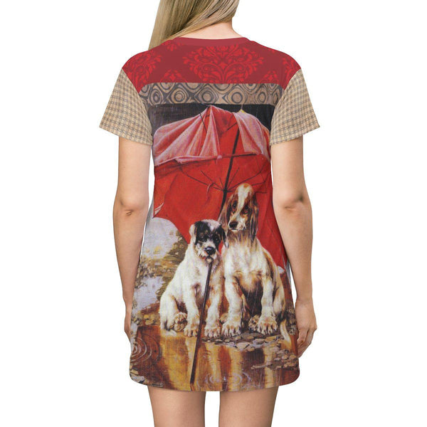 Stormy Weather T-shirt Dress - WhimzyTees