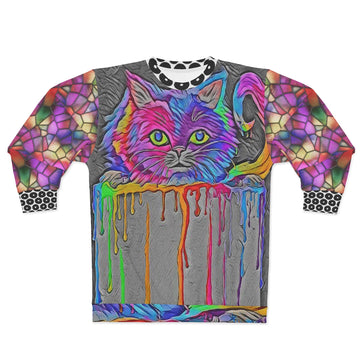 Curioso-in-Technicolor Sweatshirt