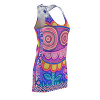 Limited Edition | Art |Mr Hydde - Okinawa FLOWRZ Racerback Dress, Mr Hydde- WhimzyTees