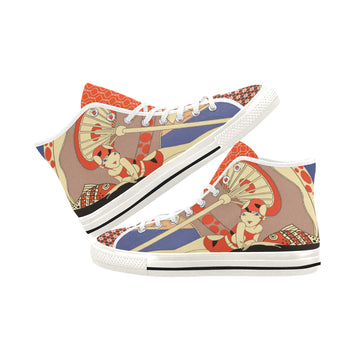 Beach Club Canvas Hi-Tops
