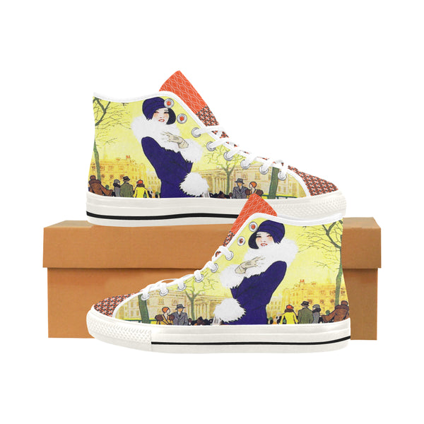 Central Park West Canvas Hi-Tops (2 options), Shoe- WhimzyTees