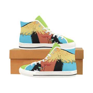 Tahiti Girl Canvas Hi-Tops