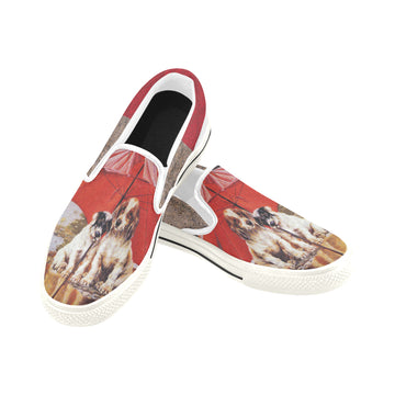 Stormy Weather Slip-ons (Unisex)