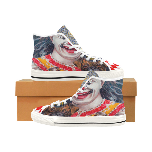 Clowning Around Canvas Hi-Tops - WhimzyTees