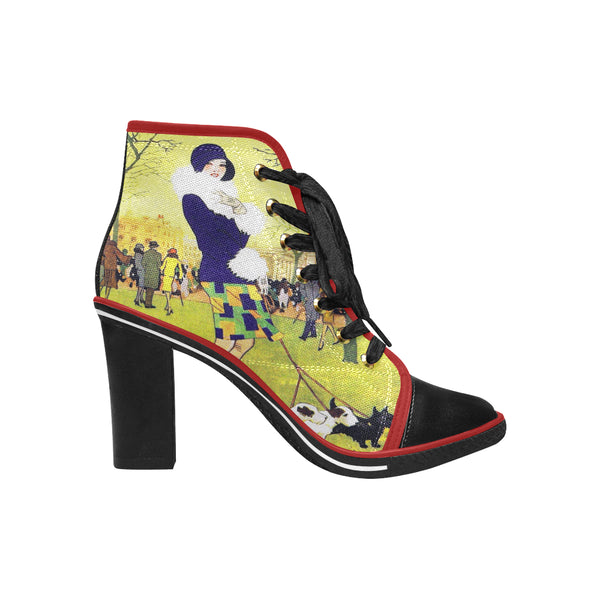 Central Park West Heeled Boot - WhimzyTees