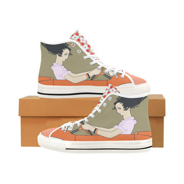 The Great Escape Canvas Hi-Tops