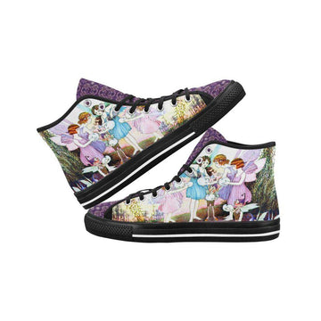 Garden Party Floral Canvas Hi-Tops