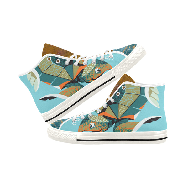 Galapagos Canvas Hi-Tops, Shoe- WhimzyTees