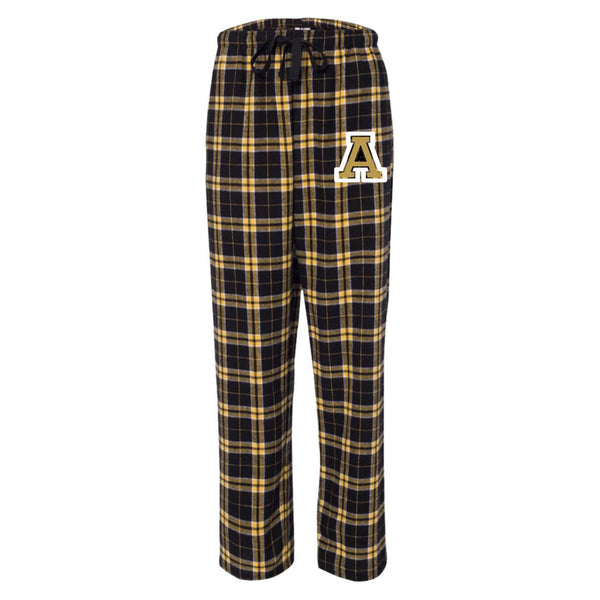 Collegiate Flannel Pants, Apparel- WhimzyTees