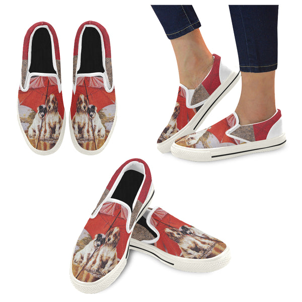 Stormy Weather Slip-ons (Unisex), Shoes- WhimzyTees