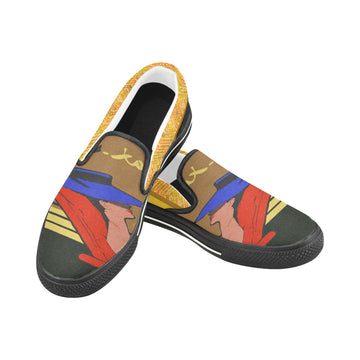 Relax Go to IT! Brown Canvas Slip-ons (Unisex)
