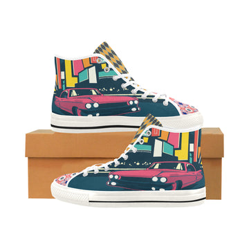 Vegas Cool Canvas Hi-Tops