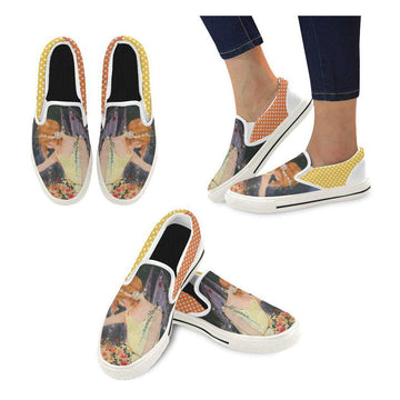 Twilight Fairy Canvas Slip-ons (2 options)