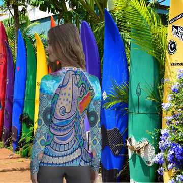 Limited Edition | Art | Mr Hydde - Love you Rash Guard (Ladies)