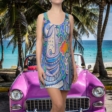 Limited Edition | Art |Mr Hydde - Love You Racerback Dress