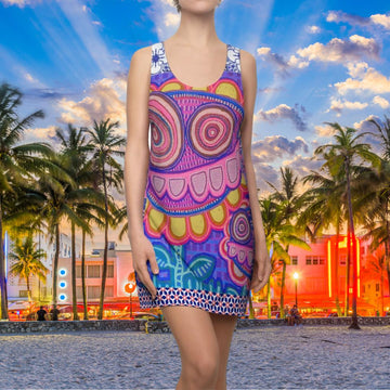 Limited Edition | Art |Mr Hydde - Okinawa FLOWRZ Racerback Dress