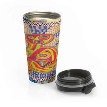 Limited Edition | Art |Mr Hydde - Prayer in the Dark Stainless Steel Travel Mug