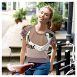 Adios! AOP Crop Top, Crop Top- WhimzyTees